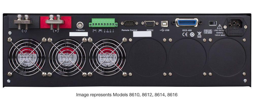8616 - Carga Eletrônica de 1200W Programável CC