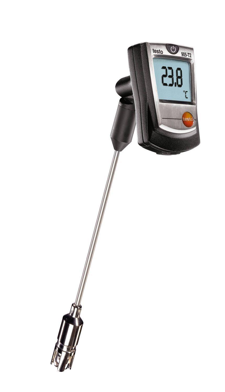 905-T2 - Medidor de temperatura Sonda Cruzada de Superfície