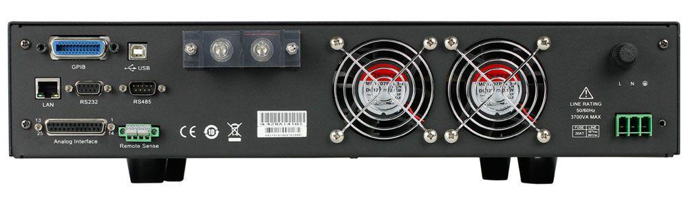 9117 - Fonte de Alimentação DC Multi-Range Programável 80V/120A 3000W
