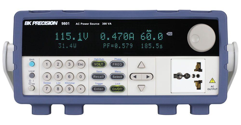 9801A - Fonte de Alimentação AC 0-300V 0-3A