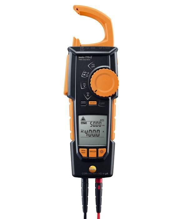 Alicate Amperímetro True RMS/Temperatura 770-2