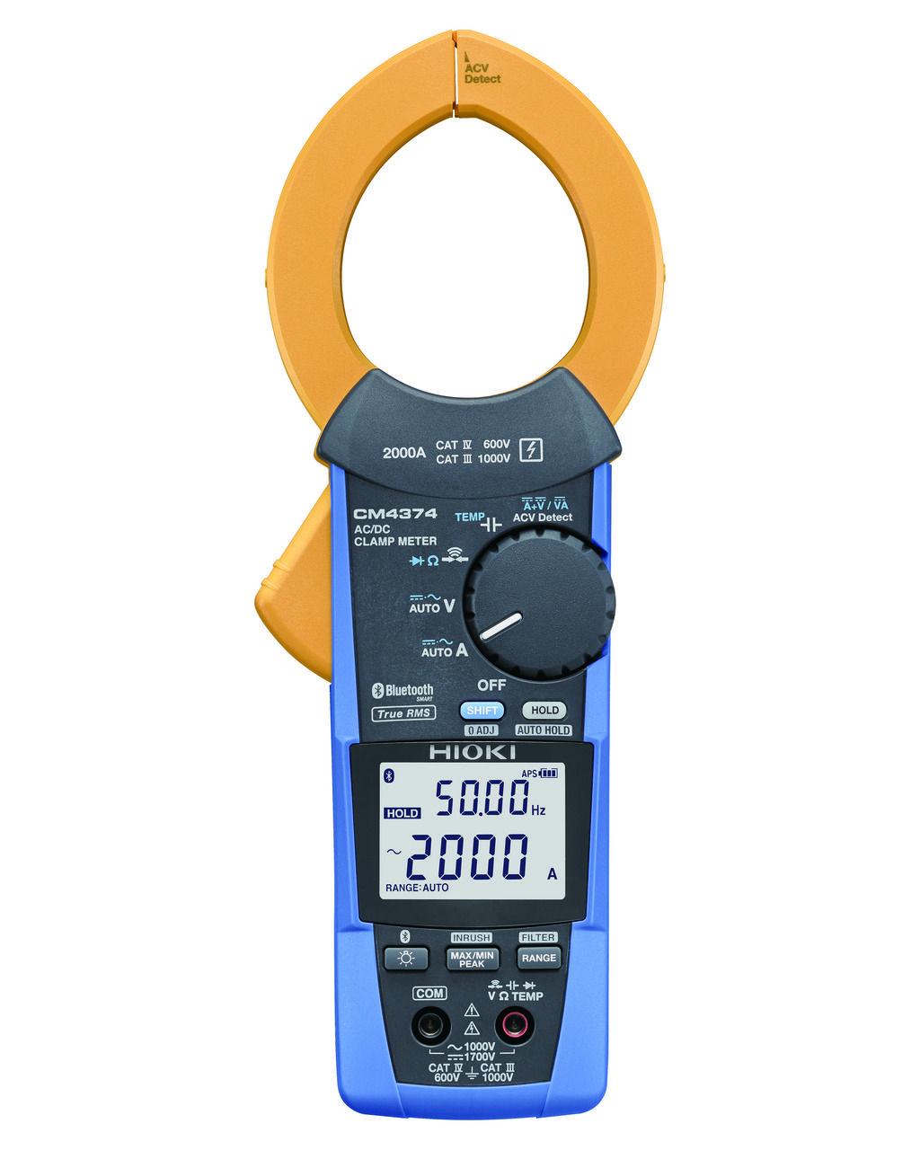CM4374 - Alicate amperímetro 2000 A, 1700 V, Bluetooh