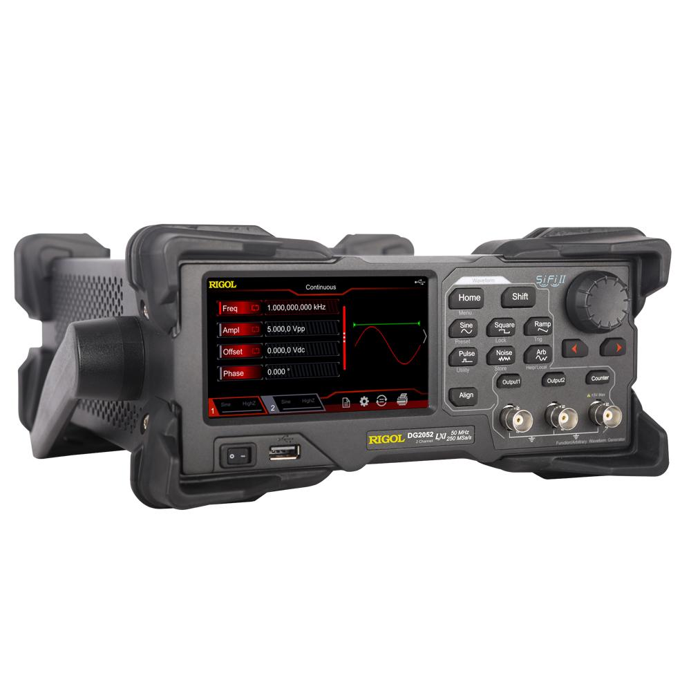 DG2052 - Gerador de funções arbitrário: 2 canais, 50 MHz