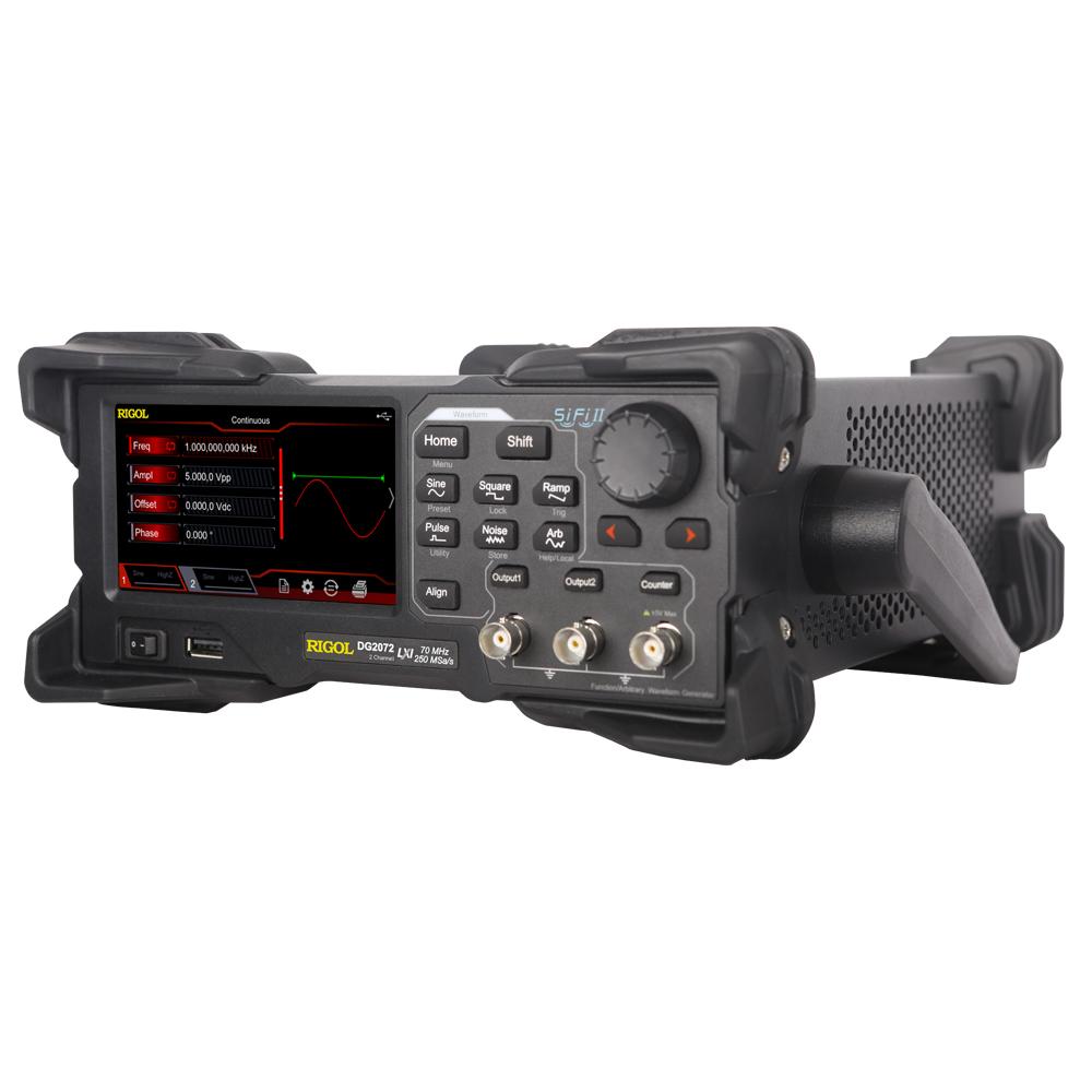 DG2072 - Gerador de funções arbitrário: 2 canais, 70 MHz