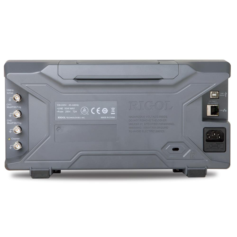 DG4102 - Gerador de funções arbitrário: 2 canais, 100 MHz