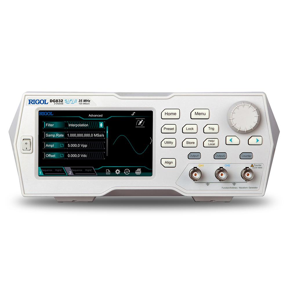 DG832 - Gerador de funções arbitrário: 2 canais, 35 MHz