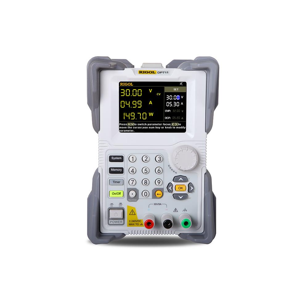 DP711 - Fonte de alimentação 1 canal, 30V/5A, 150 W