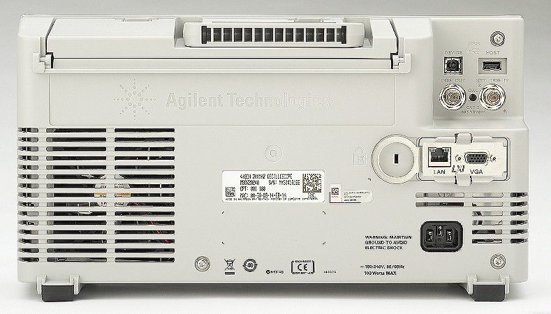DSOX2004A - Osciloscópio Digital 70 MHz, 4 Canais