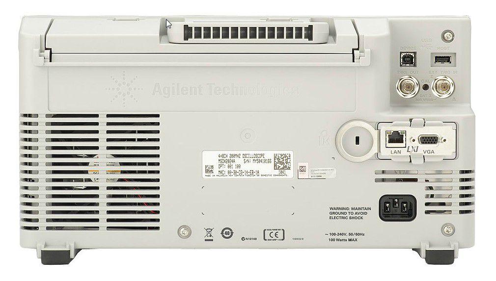 DSOX3012T - Osciloscópio Digital 100 MHz, 2 Canais