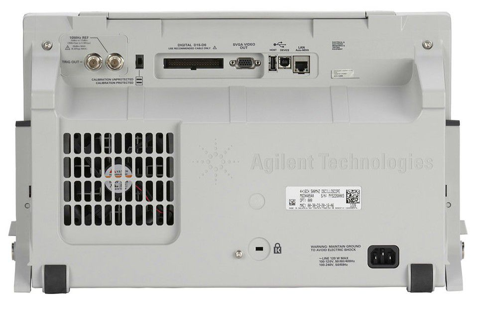 DSOX4024A - Osciloscópio Digital 200 MHz, 4 Canais
