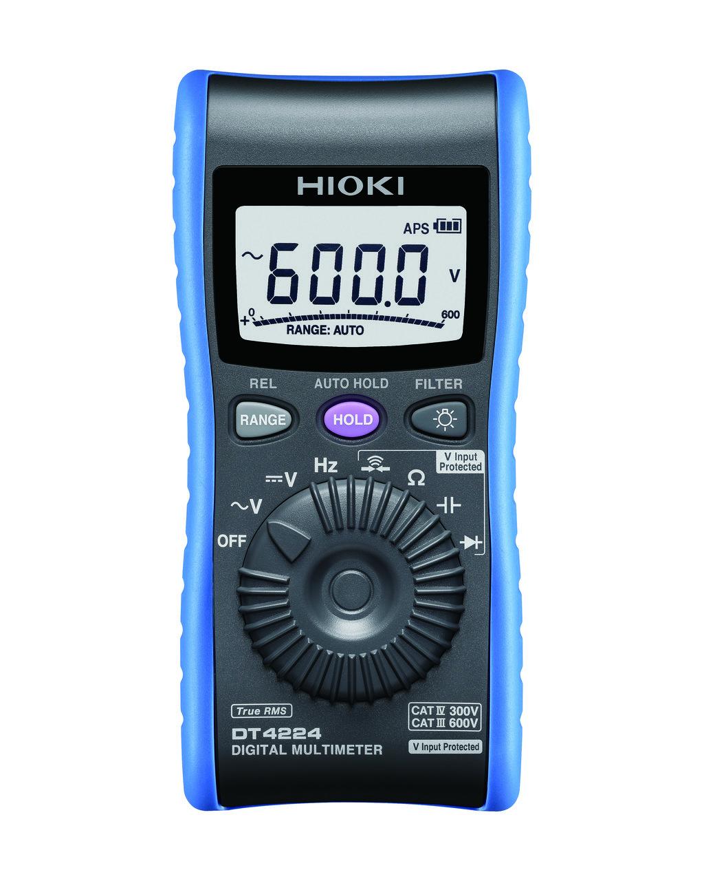 DT4224 - Multímetro de mão, função teste de disjuntor CAT IV 300V
