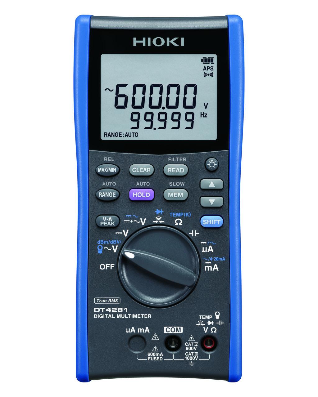 DT4281- Multímetro de alto desempenho, CAT IV 600V