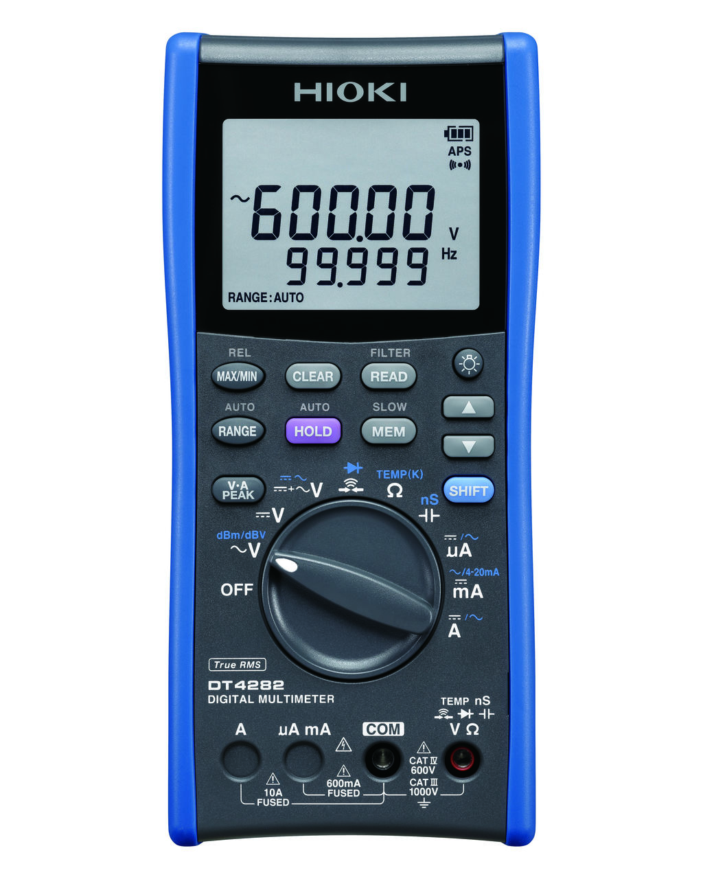 DT4282- Multímetro de alto desempenho, CAT IV 600V