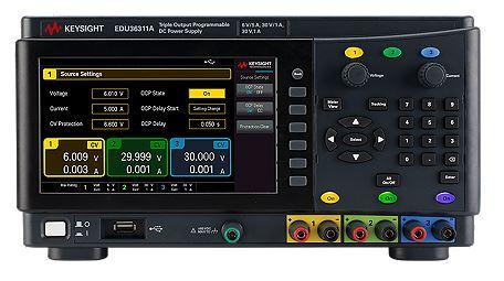 EDU33611A - Fonte de Alimentação 3 canais, 90 Watts