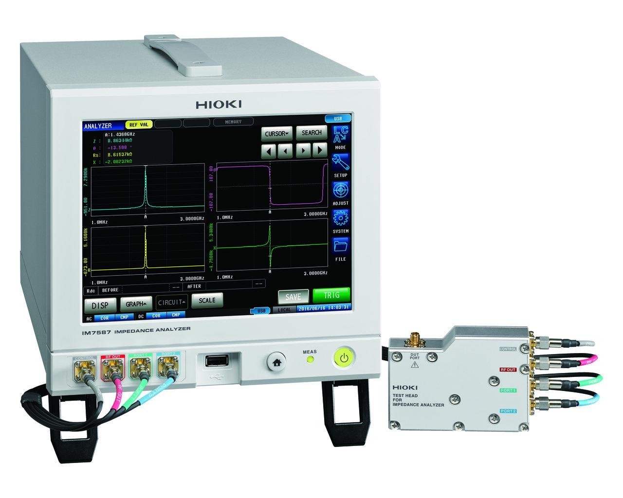 IM7587 - Analisador de Impedância 1 MHz a 3 GHz