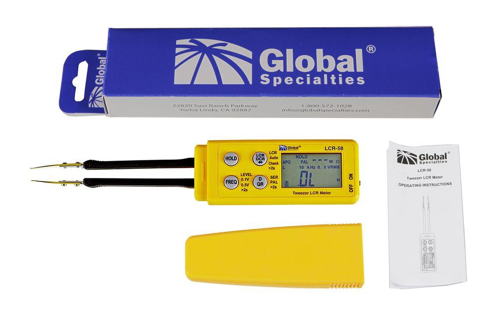 LCR-58 Medidor LCR digital tipo pinça