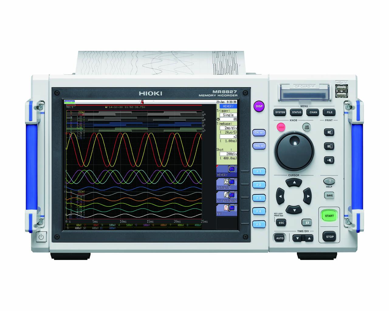 MR8827 - Oscilógrafo aquisitor de dados