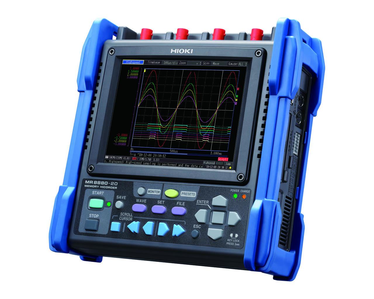 MR8880 - Osciloscópio registrador de sinais