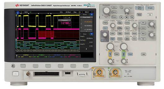MSOX3032T - Osciloscópio Digital 200 MHz, 2 Canais e com 16 Canais Digitais