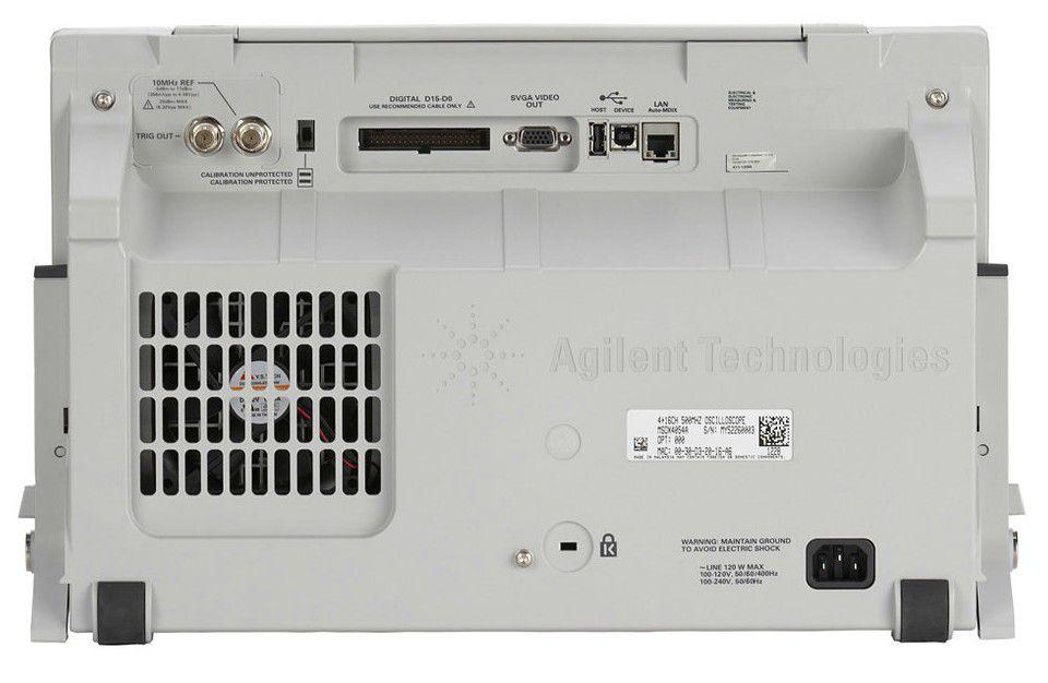 MSOX4154A - Osciloscópio Digital 1.5 GHz, 4 Canais e com 16 Canais Digitais