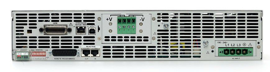 N8742A - Fonte de alimentação CC 600V, 5,5A, 3300W