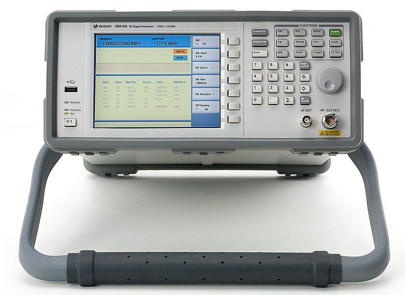 N9310A - Gerador de Sinais de RF 9 KHz a 3 GHz
