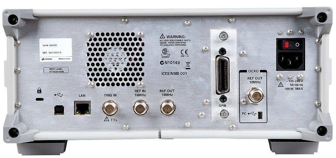 N9322C - Analisador de Espectro 9 KHz a 7 GHz