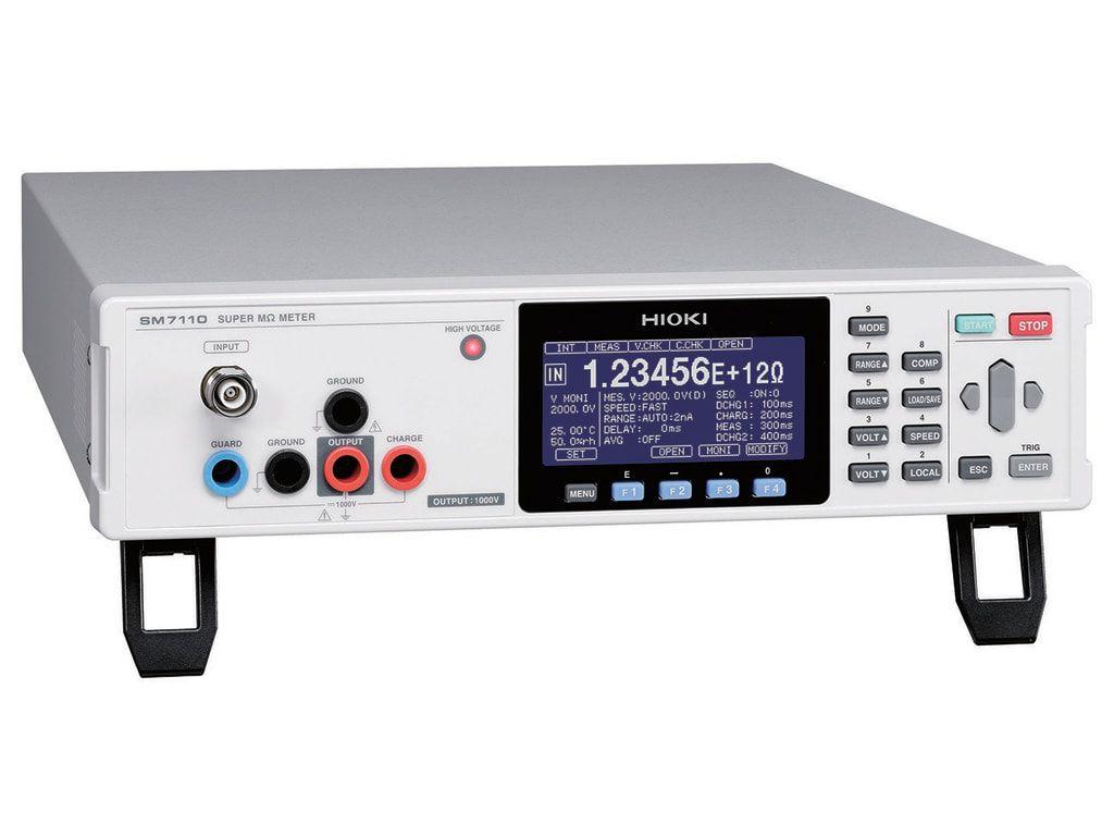 SM7110 - Super Megômetro de precisão