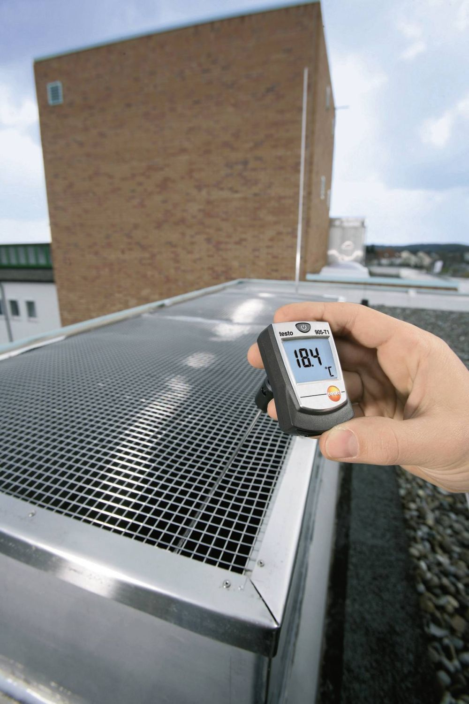 Testo 905-T1 - Medidor de temperatura por Sonda de Penetração