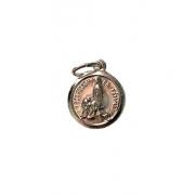Medalha de Nossa Senhora de Fátima com Terra de Fátima