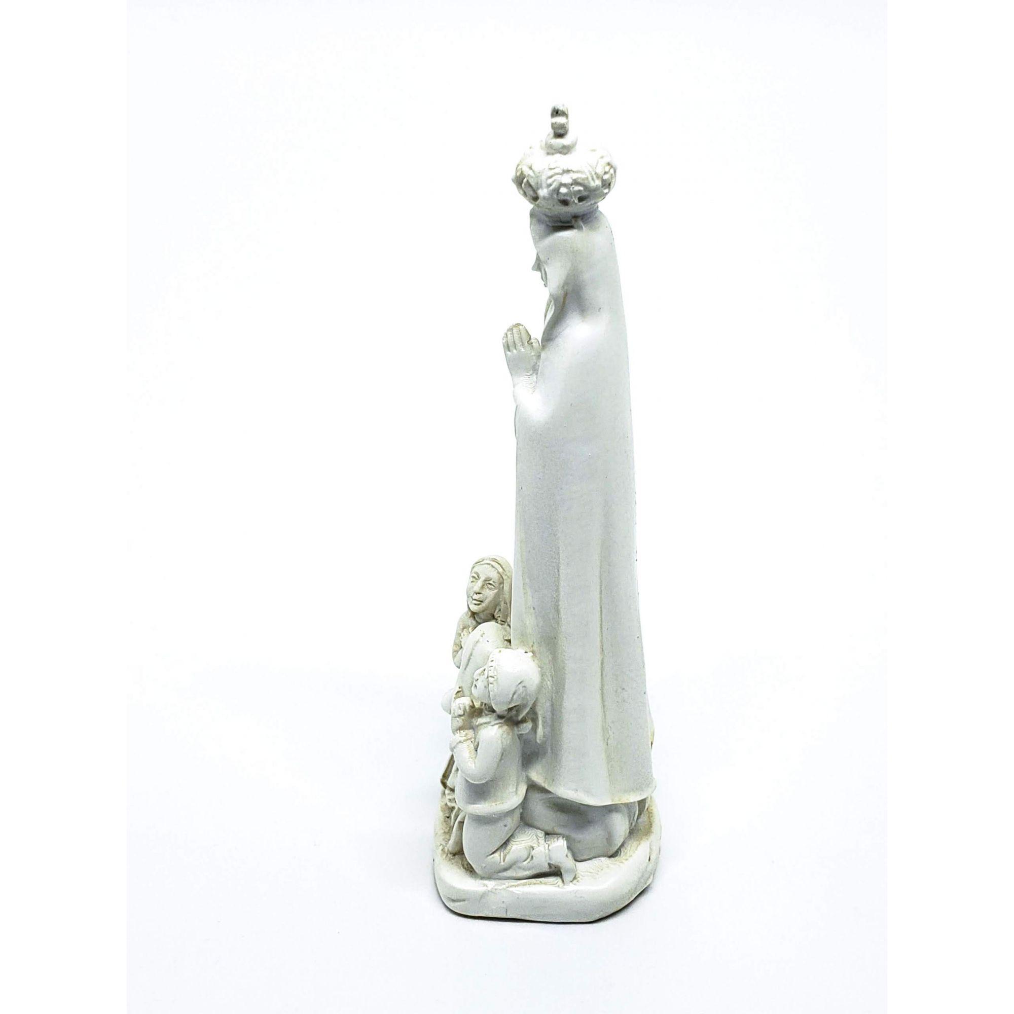 Imagem Nossa Senhora Fátima e Pastorinhos - 12cm