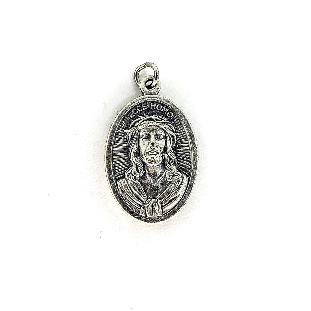 Medalha de Nossa Senhora das Dores | Jesus Sofredor - Mod 01