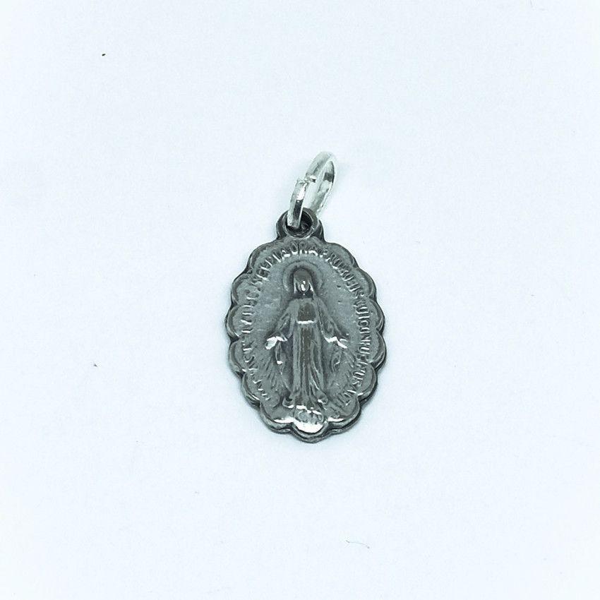 Medalha Pequena de Nossa Senhora das Graças - com detalhes na Borda