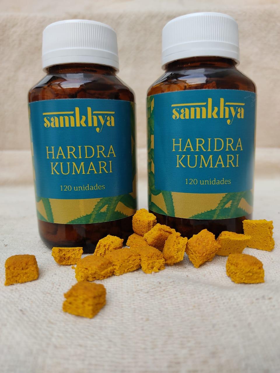KIT com 2 frascos de Haridra Kumari