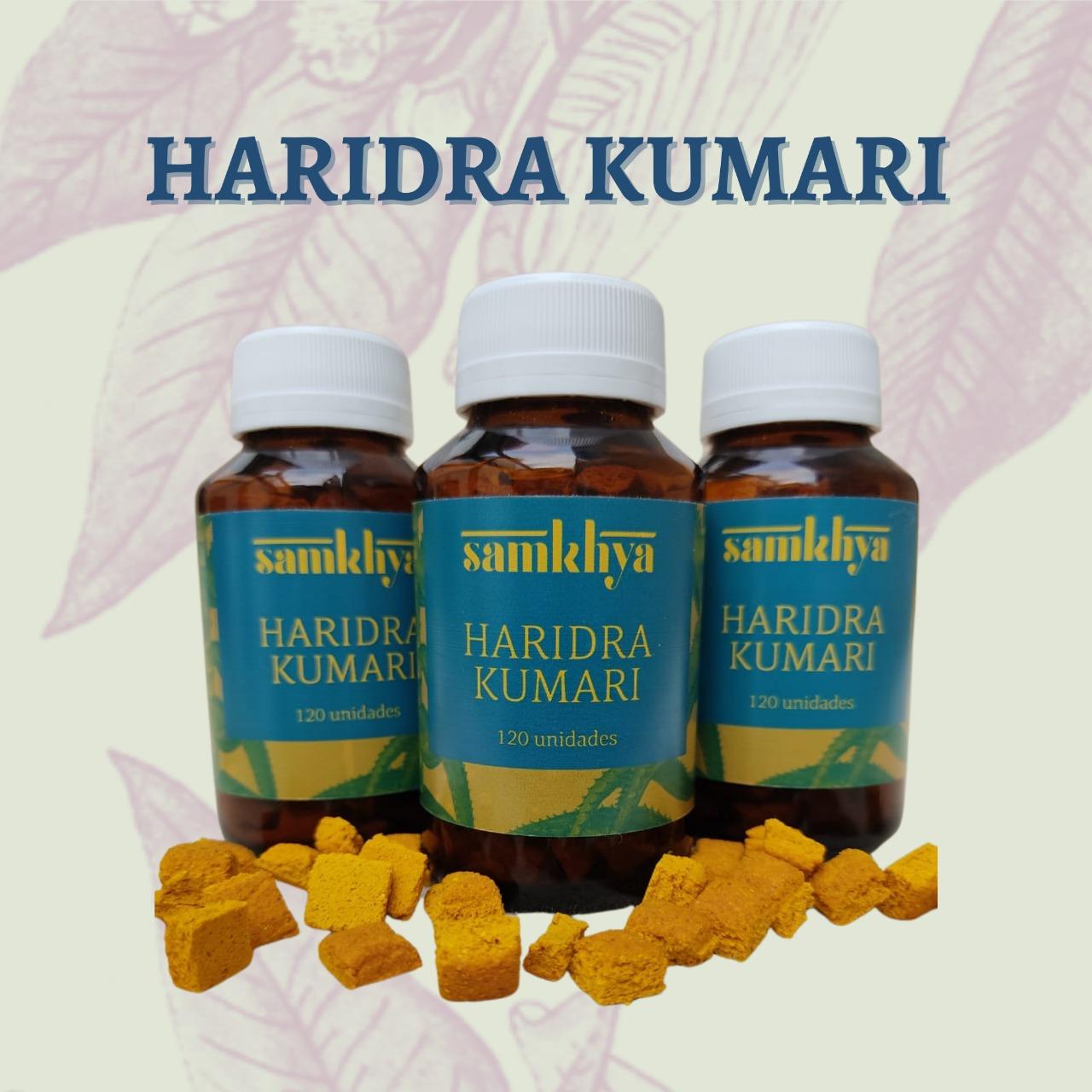 KIT com 3 frascos de Haridra Kumari