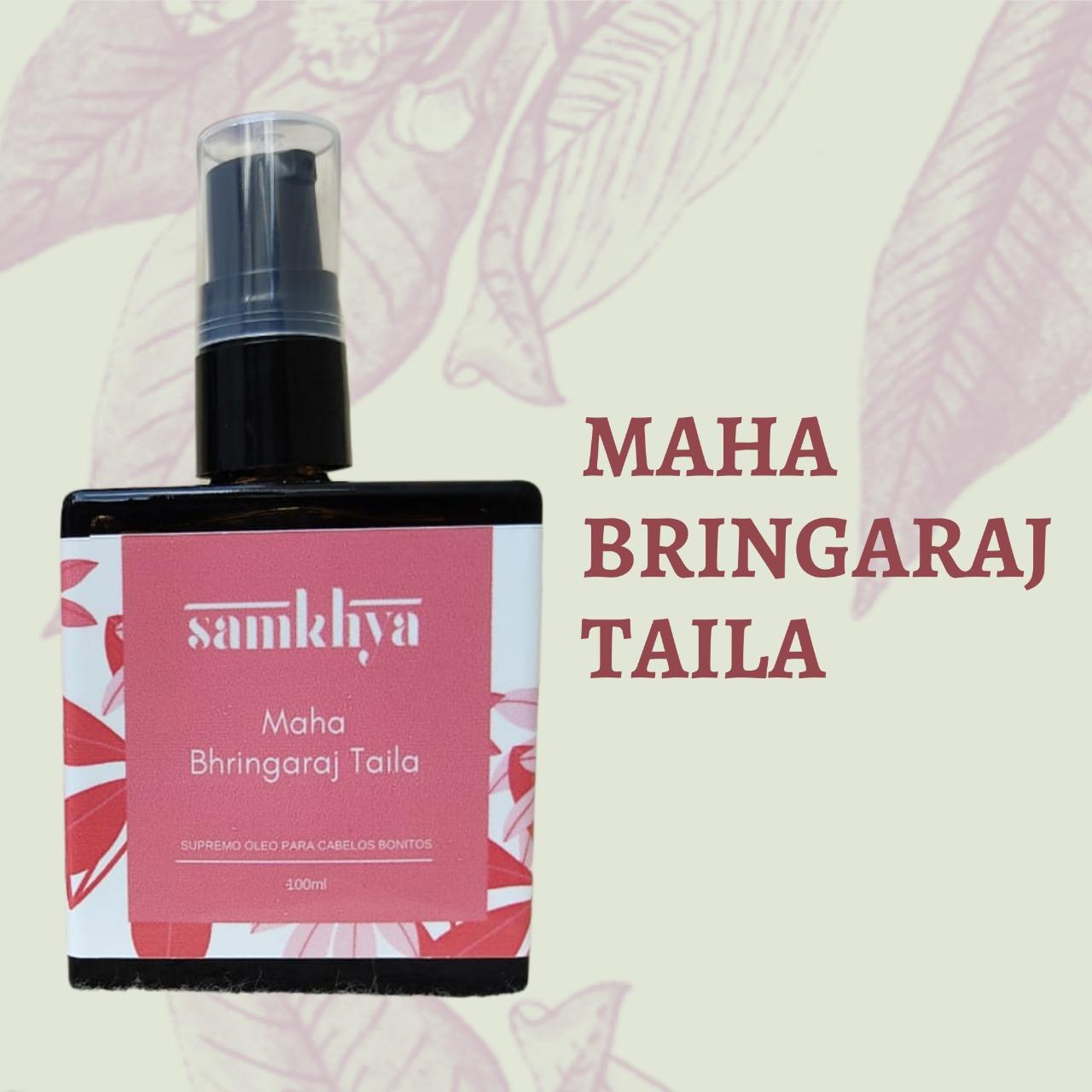 Maha Bhringaraj Taila - Supremo óleo para cabelos