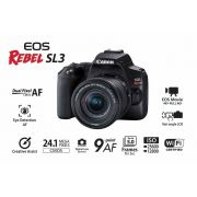 Câmera EOS Rebel SL3 com Lente EF-S 18-55mm