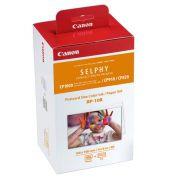 KIT PAPEL FOTOGRÁFICO + TINTA PARA IMPRESSORAS CANON SELPHY RP-108 (SELPHY CP820/CP910/CP1000/CP1300)