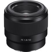 LENTE SONY FE 50MM F/1.8 E MOUNT FULL FRAME (SEL50F18F)