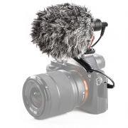 Microfone Direcional Boya BY-MM1 P2/P10 Câmeras e Smartphones