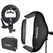 SOFTBOX PARA FLASH SPEEDLIGHT GODOX 60X60cm