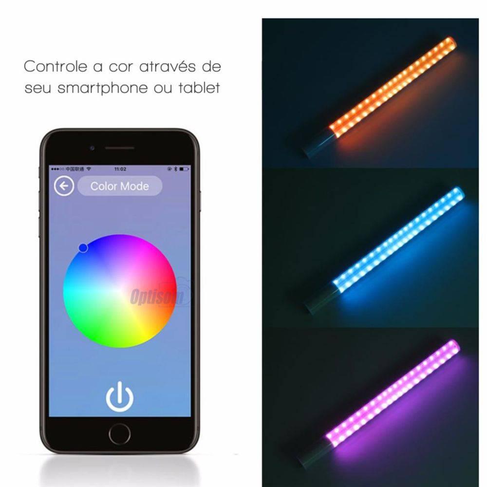 BASTÃO DE LED YONGNUO YN360 RGB + FONTE