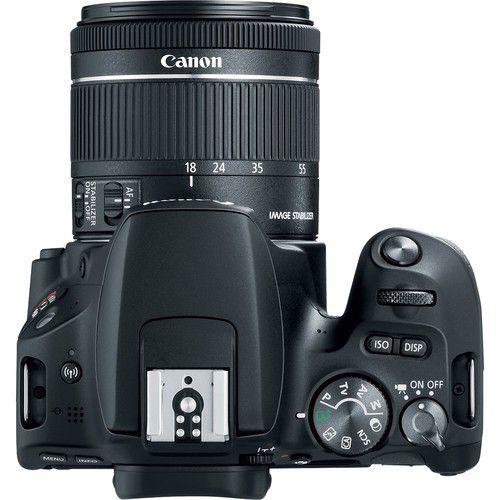 CÂMERA CANON REBEL SL2 KIT PREMIUM EF-s 18-55mm + EF-s 55-250mm