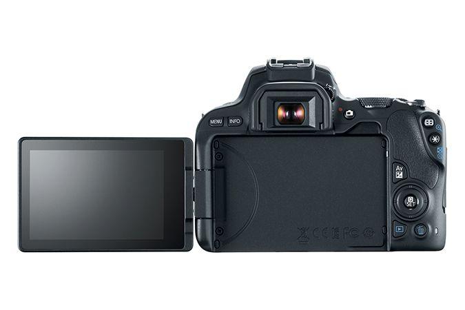 Câmera DSLR Canon EOS Rebel SL2 Com Lente 18-55mm STM IS