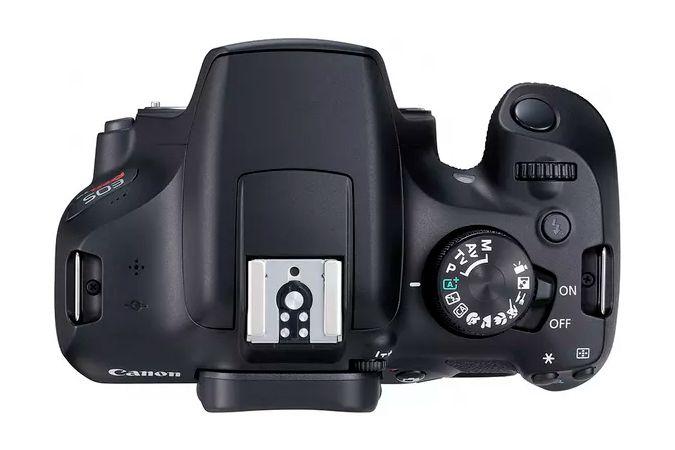 Câmera DSLR Canon EOS Rebel T6 Com Lente 18-55mm