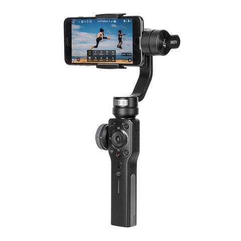 Estabilizador Eletronico Zhiyun SMOOTH 4 para Smartphones e Actions Cam