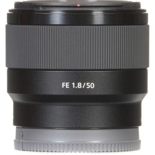 LENTE SONY FE 50MM F/1.8 E MOUNT FULL FRAME (SEL50F18F)