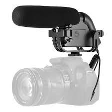Microfone Direcional Boya BY-VM190 Para Câmeras e Smartphones