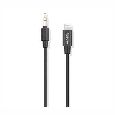 Microfone Lapela Boya By-m2d Para iPhone E iPad.