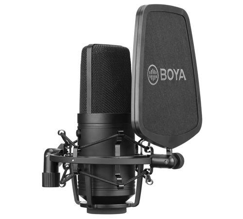 Microfone Lapela Boya By-M800 Condensador Cardióide